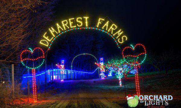 lights demarest farms archway